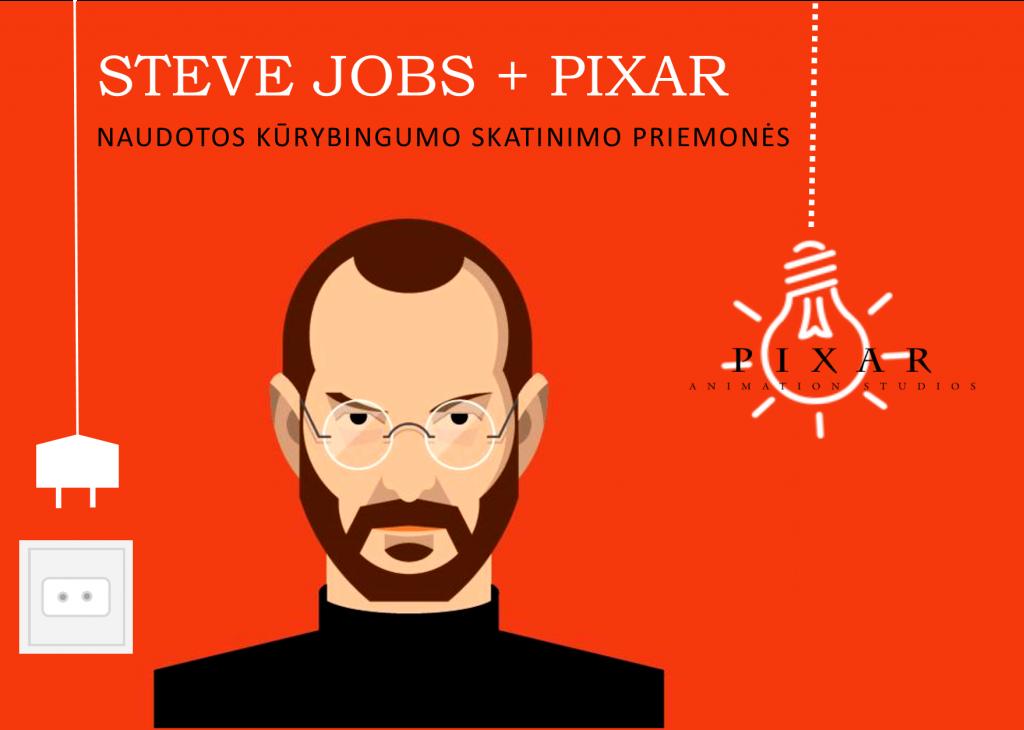 Steve_Jobs_Pixar_naudotos_kurybingumo_skatinimo_priemones